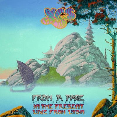 "YES release box set: ""From a Page""."